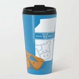 Milk & Triforce Cookies Metal Travel Mug