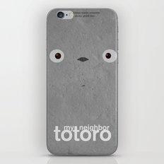 My neighbor Totoro  iPhone Skin