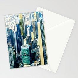 Dubai cityscape Stationery Cards