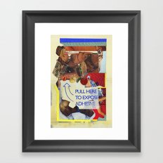 TWERK Framed Art Print