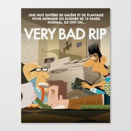 Very Bad Rip Canvas Print