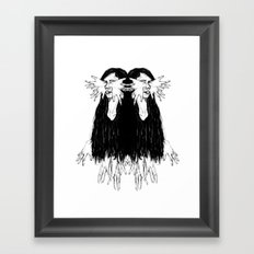 Mirroring Framed Art Print