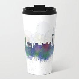 Berlin City Skyline HQ3 Travel Mug
