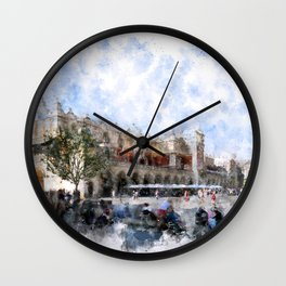 Cracow art 30 #cracow #krakow #city Wall Clock
