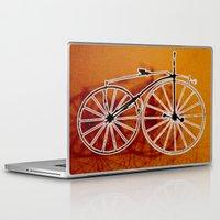 bike Laptop & iPad Skins featuring Bike by CrismanArt
