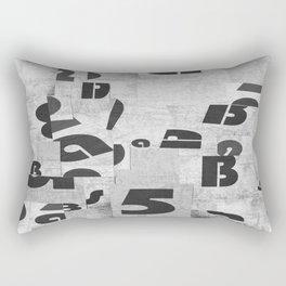 Abstract pattern 51 Rectangular Pillow