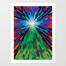 Light the tree Art Print