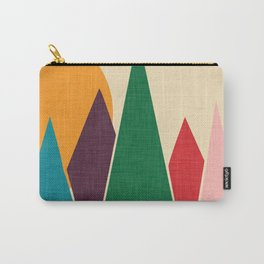 solar mountain #homedecor #midcentury Carry-All Pouch