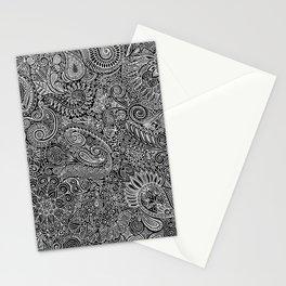 Maniac arabesque Stationery Cards