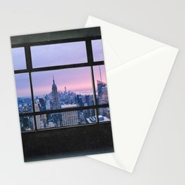 New York City Skyline Views Stationery Cards