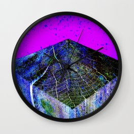Flat Earth Apocalypse Wall Clock