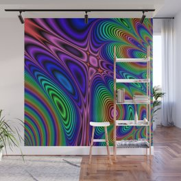 Fractal Op Art 11 Wall Mural