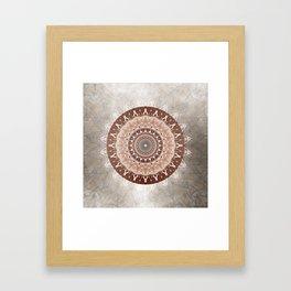 Mandala Gentleness Framed Art Print