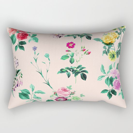 Florals #society6 #decor #lifestyle #tech Rectangular Pillow