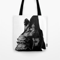 howl Tote Bags featuring Howl by Victoria-Samantha