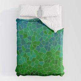 Mosaic Forest Duvet Cover