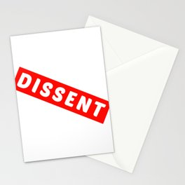 Dissent Stationery Cards