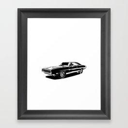 A. M. 2 Framed Art Print