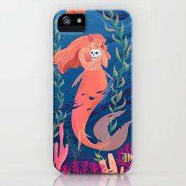 Coral Mermaid iPhone Case