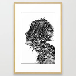 Abstract Drawing Framed Art Print