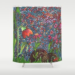 Moon Shine Shower Curtain