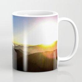 Sunset on the horizon Coffee Mug