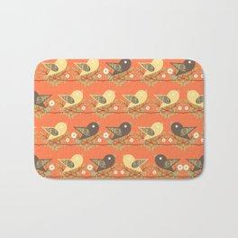 Birds pattern Bath Mat