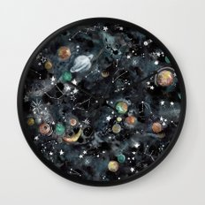 Cosmic Universe Wall Clock