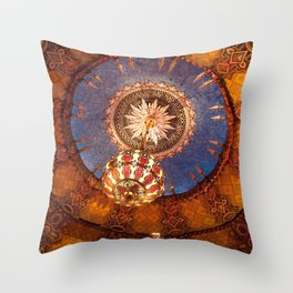 Theater Ceiling Throw Pillow