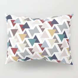 Scatter triangles Pillow Sham