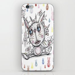 sad bunny iPhone Skin