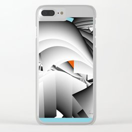 Searching for the Truth Clear iPhone Case