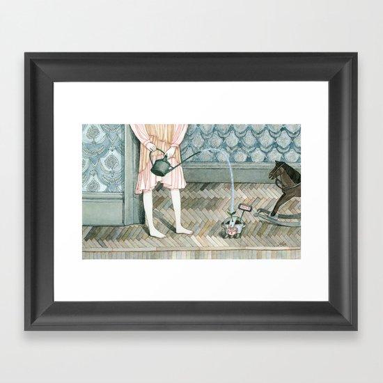 Grow Your Dream Framed Art Print