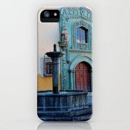 Gran Canaria's Old Town Vegueta Fountain iPhone Case