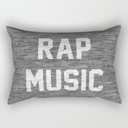 Rap Music Rectangular Pillow