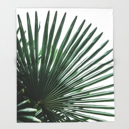 Palm Leaves 13 Throw Blanket
