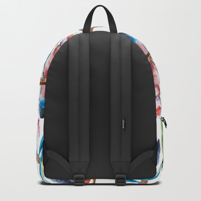 Parrot Pattern 02 Backpack