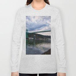 St. Johns Bridge Long Sleeve T-shirt