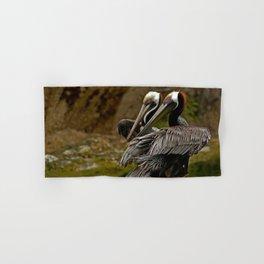 Brown Pelican Hand & Bath Towel