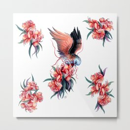 Bar-shouldered Dove Metal Print