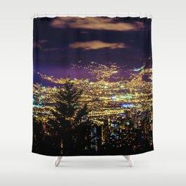 Medellin Night Moves Shower Curtain