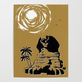 Sunshine Sentinel (Gold) Poster