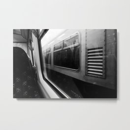 Surface Tension: Commute to City Centre Metal Print
