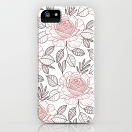 Pink power iPhone Case