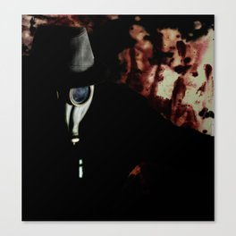 Fear the Rise of The Gasman Canvas Print