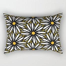 Lazy Daisy Rectangular Pillow