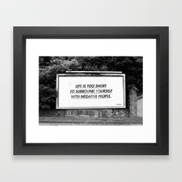 BILLBOARD FANTASIES #5 Framed Art Print