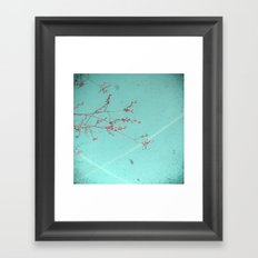 A Kiss in the Sky Framed Art Print