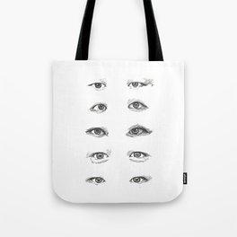 eye study Tote Bag