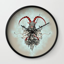 Three Goats Wall Clock